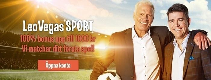 LeoVegas Sport – Bra betting online med livestreaming