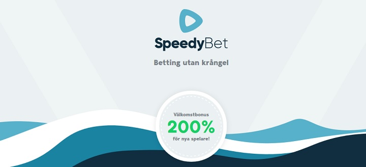 SpeedyBet oddsbonus värd 2 000 kr